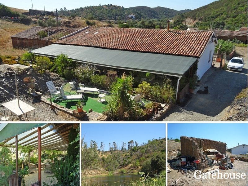 Algarve Bargain Quinta With Annex And Views For Sale In Odiaxere