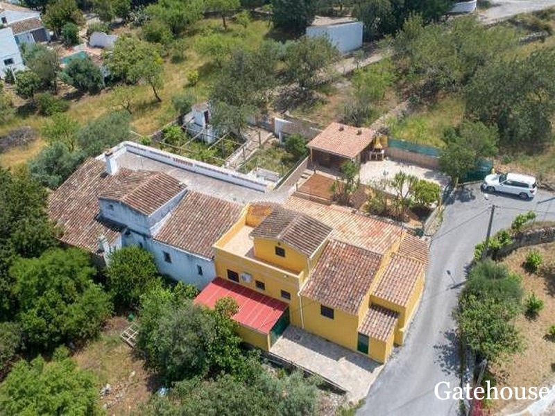 Algarve Bargain Villa With Annex For Sale In Sao Bras