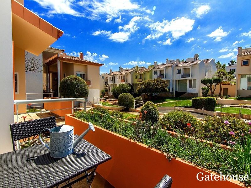 Bargain 2 Bed Townhouse With Sea Views For Sale In Carvoeiro