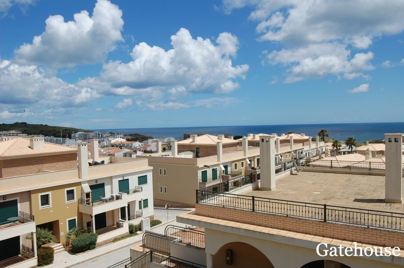 Bargain Property - 2 Bed Apartment With Sea Views For Sale In Burgau