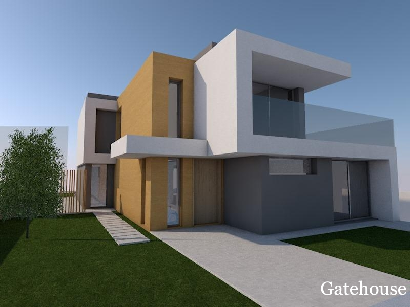 Building Plot With Approved Project For Sale Algarve