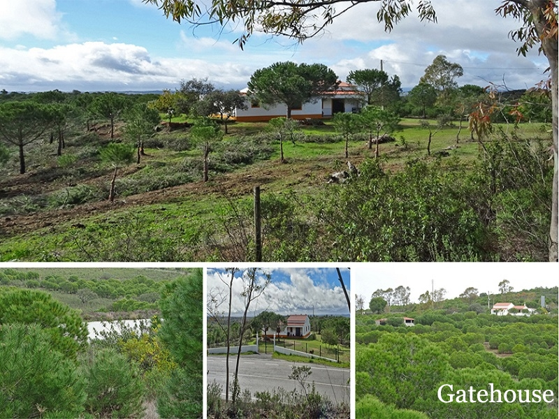 Farm With Large Plot of 84300m2  For Sale In Alcoutim Algarve