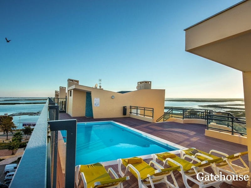 New Bank Repossesion Property With Sea Views For Sale In Olhao Algarve