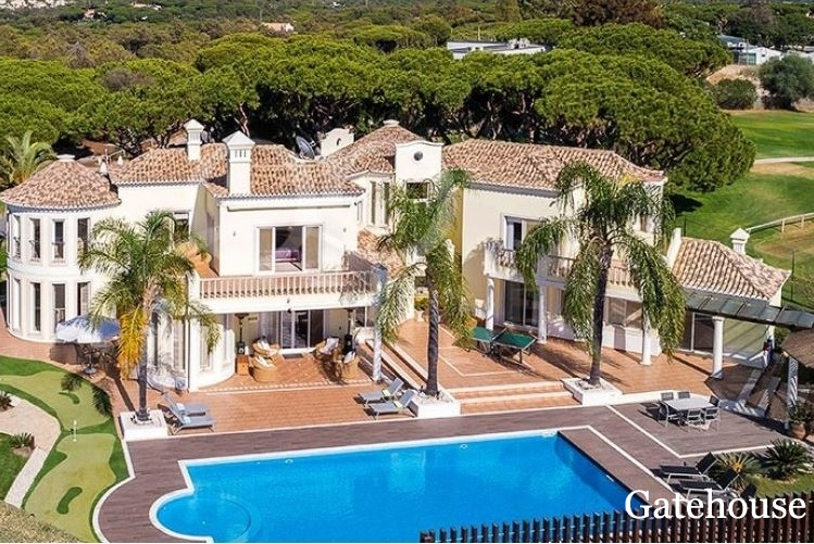 Reduced Property - Luxury Villa For Sale On The Golf Course In Vale do Lobo