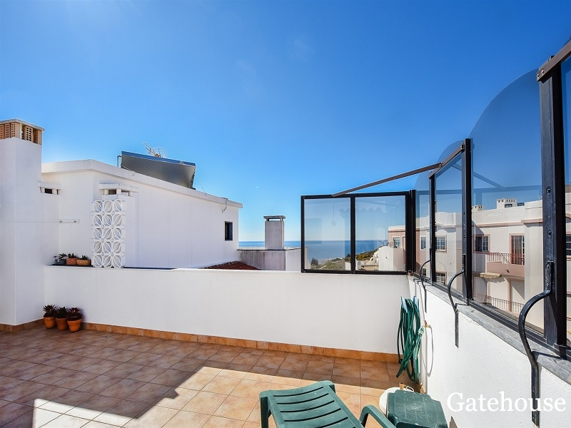 Triplex Apartment With 2 Beds And Sea Views For Sale In Luz Algarve