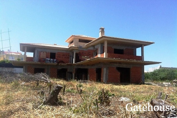 Unfinished Property For Sale In Albufeira Algarve
