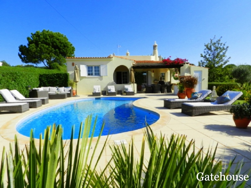 Vilamoura 4 Bed Villa With Pool For Sale Algarve