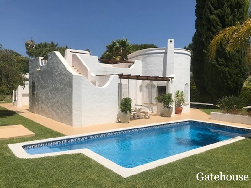 Vilamoura Detached 3 Bed Villa With Pool For Sale Algarve