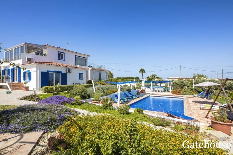 Villa With A Windmill And Sea Views In Carvoeiro Algarve