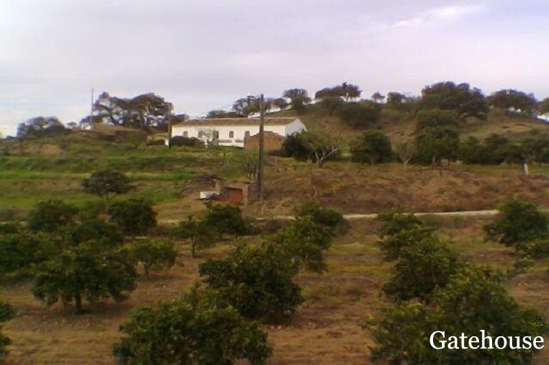 Algarve Farmhouse With Land In Central Algarve