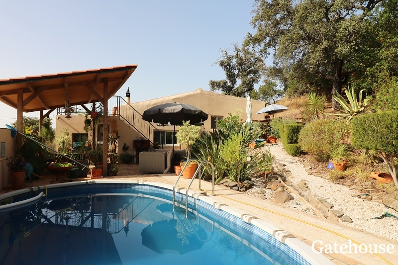 Algarve Rustic 3 Bed Villa In Salir Loule