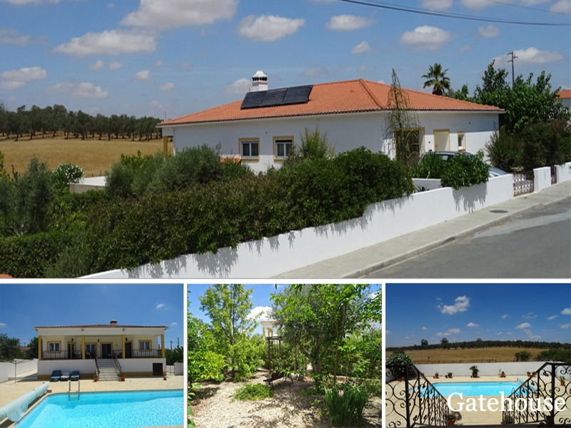 Bargain 4 Bed Villa In Alentejo Portugal