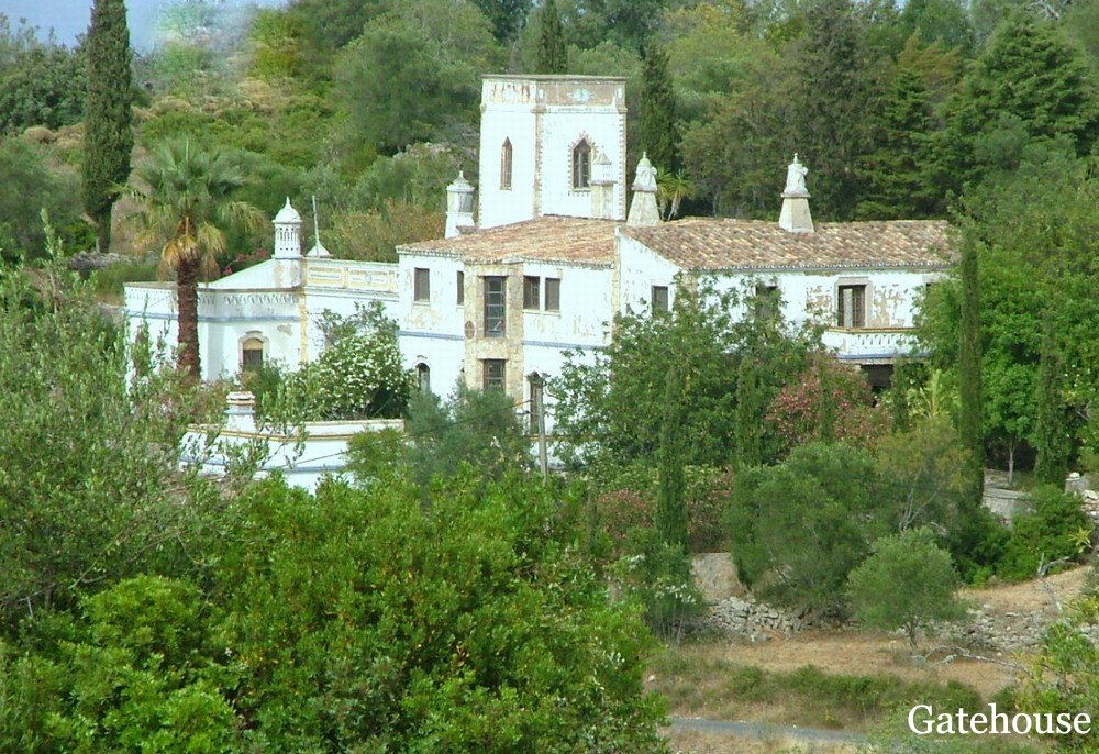Reduced Manor House In Estoi For Sale Portugal