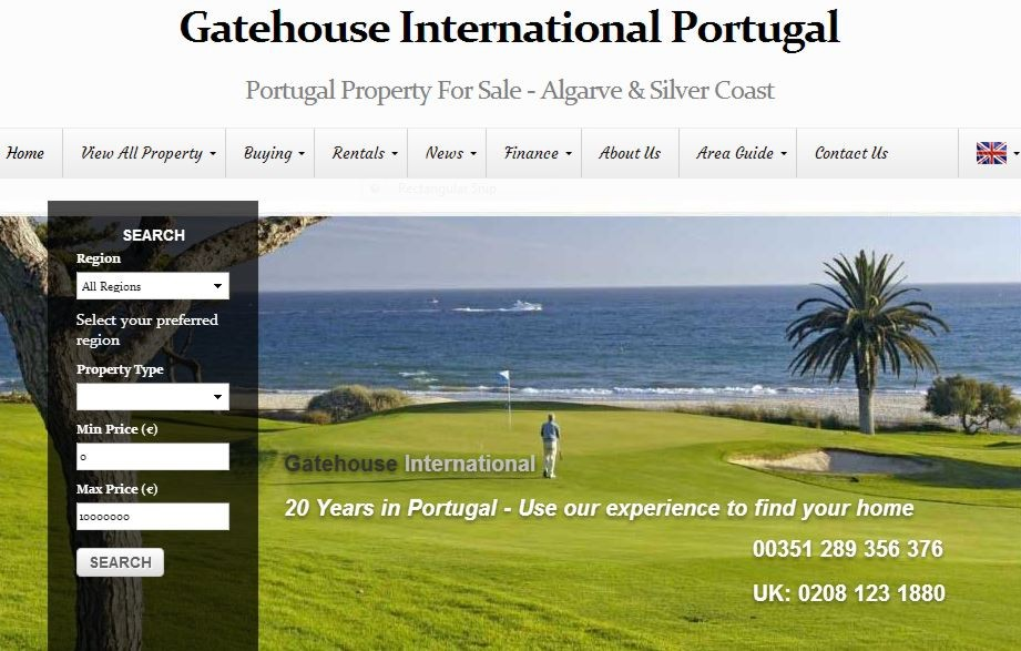 Property for sale in Portugal. Properties in the Algarve