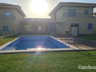 Almancil €695,000Bank RepossessionLinked villas with 4 beds, 5 baths with own swimming pool…