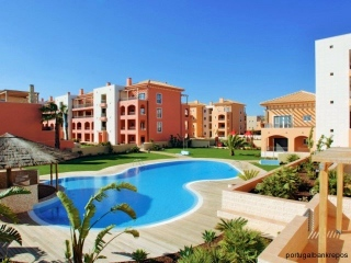 Vilamoura €195,000Bank RepossessionGolf apartment in Tivoli Boulevard with 2 beds & 3 baths…